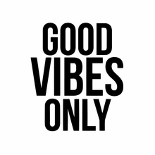 Good Vibes Only Quote Vinyl Car Sticker Decor , Good Vibes Only Car Window and Laptop Decoration(China)