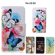 Phone Stand Case for fundas LG G3 Cover Case for coque LG G3 Case D830 D831 D850 D855 5.5 inch + Card Holder(China)