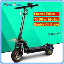 800W Powerful Electric Scooter Hoverboard Road Skateboard Eletrico Adult Motor Dual Drive 1600W - FINEONE Store store