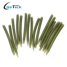 Sales 100pcs 53mm Fishing Accessories Anti Tangle Sleeves Connect With Hook For Carp Fishing Tackle