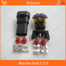 Sample,2 sets 2Pin 9005 HID BALLAST,Auto head lamp plug,Car Waterproof Electrical connector kits for BMW Audi etc.