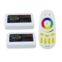 2X4 zone RGBW Mi.light led controller + RGBW Touch led remote for 5050 RGBW Led Strip light and bulb with RoHS,CE