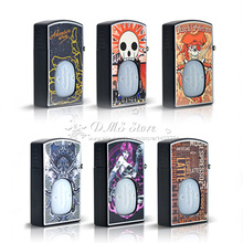 E-XY Protable Little beard boy lighter style plastic 30ml  box e liquid needle Bottle Empty oil dropper bottle