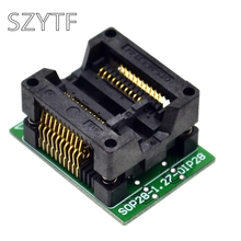Top Quality Chip programmer SOP20 (28) -1.27 adapter socket to 20 ots20 (28) -1.27-04(China)