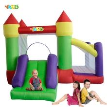 YARD Kids Bouncy Castle Inflatable Bounce House with Ball Pit Slide Party Event Toys Special Offer for Asia