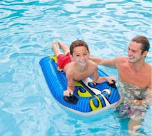 floating row inflatable water bed surfboard children's water toys swimming floating row fetching water board