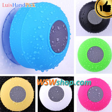 LuisHandPick Mini Bluetooth Speaker Water Proof Shower Bluetooth Speaker Wireless Portable Speaker With Sucker As A Stand