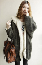 Free PP! Ladies Winter Coat Fur Coat Fashion Jacket Keep Warm Long Down and Parker