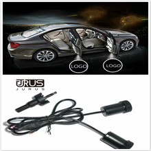 JURUS Car Door Welcome Light courtesy car laser projector For Arsenal Chelsea Juventus Real Madrid AC Milan CLUB Logo Light(China)
