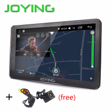 Latest 2017 Android 6.0 car stereo Single 1din Auto radio HD 1024*600 GPS radio 10.1'' free back up rear view reverse camera(China)