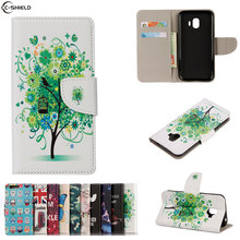 Buy Flip Case Samsung Galaxy J2 2018 J250 Case Wallet Leather Cover Grand Prime Pro SM-J250G SM-J250G/DS SM-J250F/DS SM J250F/DS for $4.69 in AliExpress store