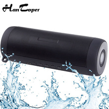 Waterproof Bluetooth Speaker Outdoor Bicycle Portable Subwoofer Bass Wireless Speakers Mini Column Box Loudspeaker FM +LED Light(China)