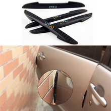 Car-Styling 4PCS/Set Door Anti-Rub Bumper Strips PVC Door Side Edge Protection Guards Stickers FOR LEXUS RX300 RX330 RX350 IS LX