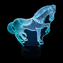 Cable Lamp Base for 3D LED Night Light Replacement Colorful Light Base Table Decoration(China)