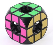 Empty hole pattern magical cube one pcs per price intellectual toy(China)