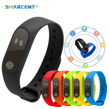 SMARCENT Original M2 Smart Bracelet Wristband OLED Screen IP67 Waterproof Support Heart Rate Monitor Band PK Xiaomi Mi Band 2