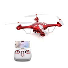 New Arrival SYMA X5UW 720P WIFI FPV With 2MP HD Camera 2.4G 4CH 6Axis RC Quadcopter RTF Remote Control Toys Gift Mode2