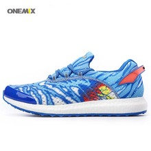 ONEMIX 2017 FREE 1136 sport Lady Run sneaker Women's Running Mesh shoes Black Ghost Flame red Smurfs Ikran(China)