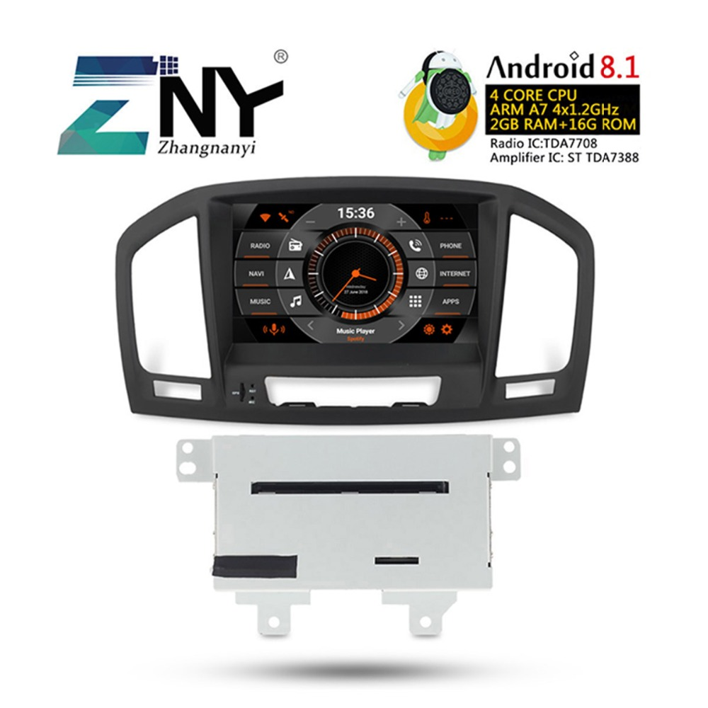 "2GB RAM 8"" Android 8.1 Car Stereo For Opel Vauxhall Insignia 2009 2010 2011 2012 DVD GPS Navigation Radio FM Audio Video System"