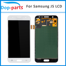 China Supplier Top Screen For Samsung Galaxy J5 J500fn J500M LCD Display 2015 Touch Screen Digitizer Assembly Replacement Parts(China)