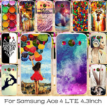 Colorful Phone Case For Samsung Galaxy Ace 4 LTE G357FZ Silicone Plastic Phone Bag Cover Ace Style LTE G357 SM-G357FZ Shell Case