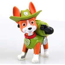 1pcs 2017 New Canine Patrol Dog Toys Russian Anime Doll Jungle Rescue Patrol Puppy Toy Patrulla Canina Juguetes Gift Boys