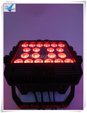 T-6/lot 20X18W RGBWA uv high power wall washer dmx outdoor 6 in 1 led wall washer IP 65 light