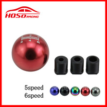 Universal 5/6 Speed Spherical Aluminum Mugen Gear Shift Knob for Honda Acura Mazda Mitsubishi Nissan BMW(China)