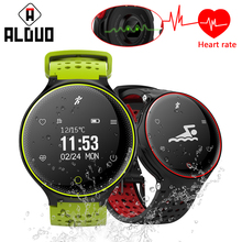 ALANGDUO X2 Smart Wristband Fitness Tracker Blood Pressure Watch Heart Rate Monitor Bracelet IP68 Waterproof For IOS Android New