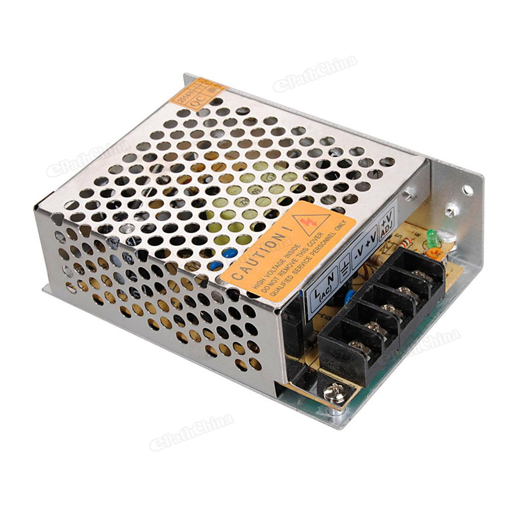 High Quality Quality Switching Power Supply AC 110~220V to 12V 5A DC 60W for LED Strip Light<br><br>Aliexpress