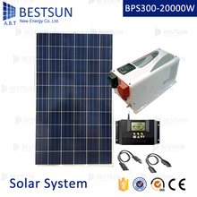 1KW  solar panel system/1KVA Solar home power system/1000W off grid solar energy system(install at home get free electricity)
