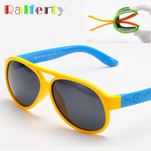 Baby Boys Polarized Sun Glasses Oval Frame TAC TR90 Kids Sunglasses Polaroid Safety Glasses Infant Girls Outdoor Goggles 806(China)