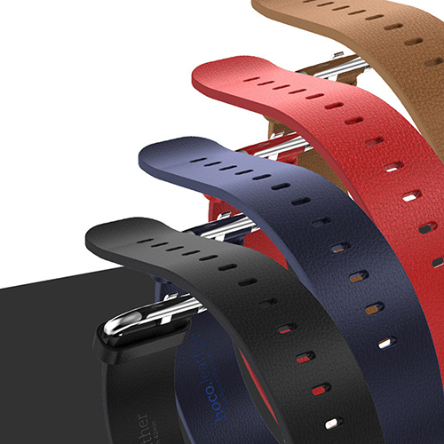 Genuine Leather Strap Classic Buckle Adapter Watch Band for Apple Watch 42mm<br><br>Aliexpress
