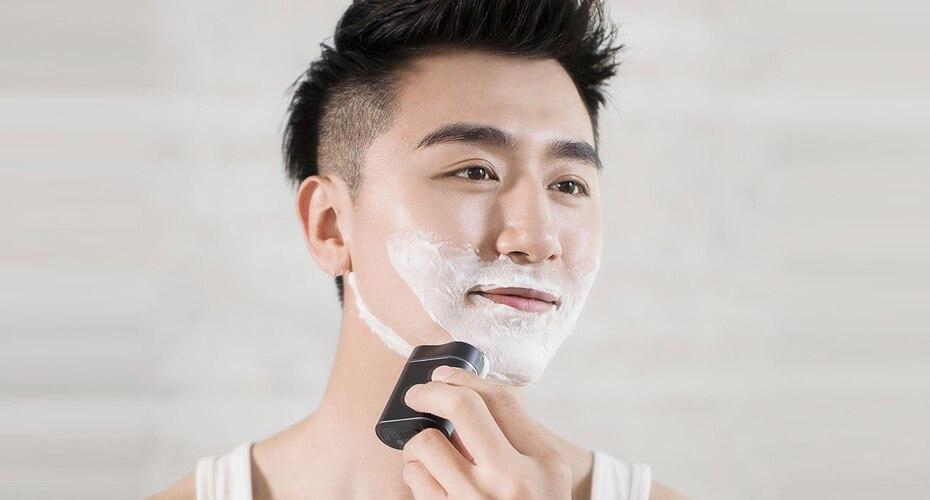 Xiaomi ZHIBAI Mini Electric Shaver Washing Razor Japan Steel German Technical Moto Waterproof Rechargeable WetDry Shaving IPX7-55