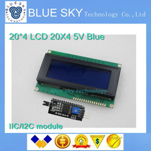1lot IIC/I2C 2004 LCD module provides libraries with demo code