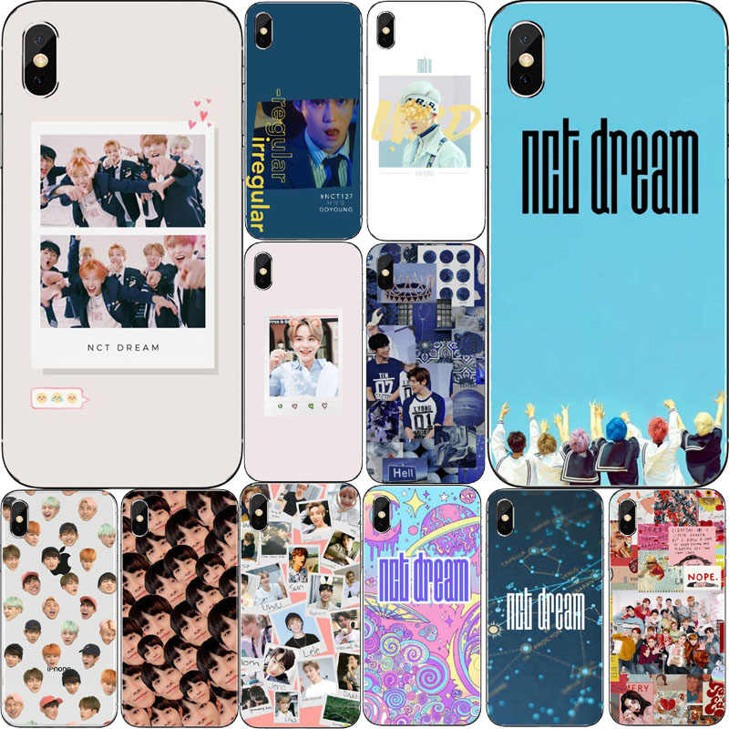 NCT 127 Kpop grupo Menino Мягкий чехол из ТПУ для iphone X XR XS MAX 8 7 6 PLUS 5 KPOP K.A.R.D MONSTA X NCT 127
