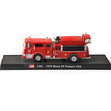 1/64 Scale Mack CF Pumper USA Fire Truck  F.D.N.Y 33  Diecast Model Car Collections