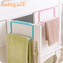 SAINGACE Storage Holders Towel Rack Hanging Holder Organizer Bathroom Kitchen Cabinet Cupboard Hanger u61018 DROP SHIP rangement(China)