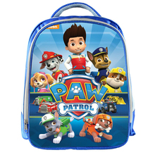 schoolbag backpack Canine Patrolling Dog Toys Russian Anime Doll Action Figures Tent for Childen Toy Team Inflatable Bar Tent