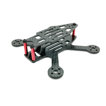Hot Sale! SPC 90S 90mm Wheelbase 3K Full Carbon Fiber Racing Frame Kit with 2mm Arm For RC Racer FPV Drone Quadcopter DIY Accs(China)