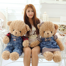 New Arrival 1pc 50cmTeddy Bear Plush Toy Lovely Huge Bear Doll for Girls Baby Birthday Gift Wedding Gift Super Quality