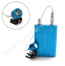 CE BLUE Dentist Dental LED Head Light Lamp For Dental Loupe 100% High Quality