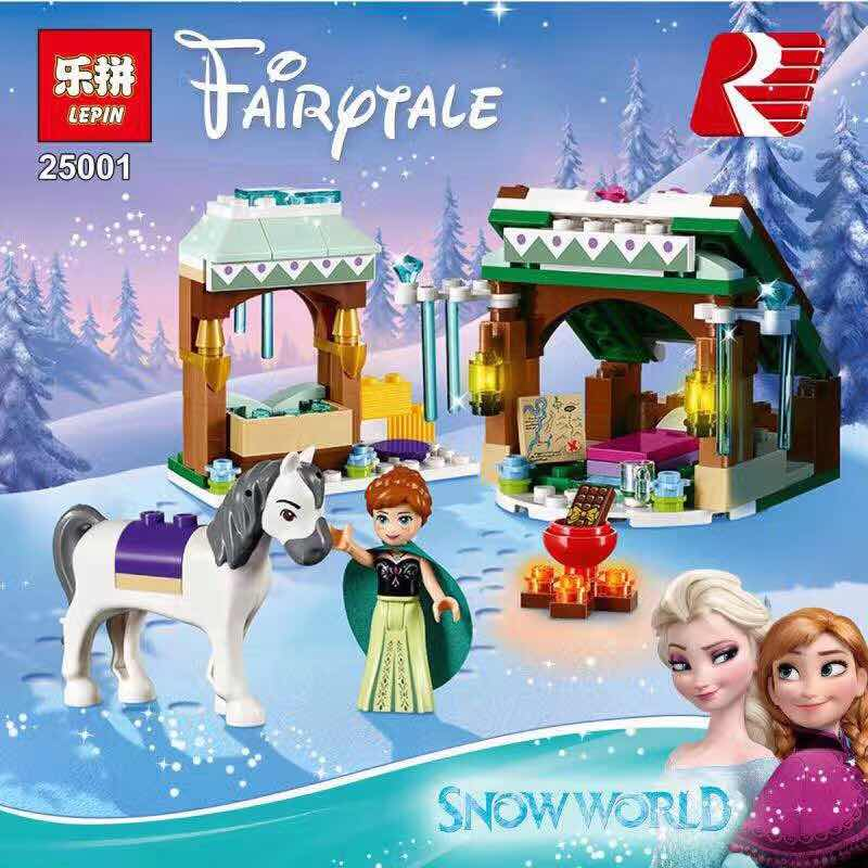 New lepin Friends 25001 175pcs Princess Annas snow world Building Blocks Bricks Toys Kits with 41147 toys for children<br><br>Aliexpress