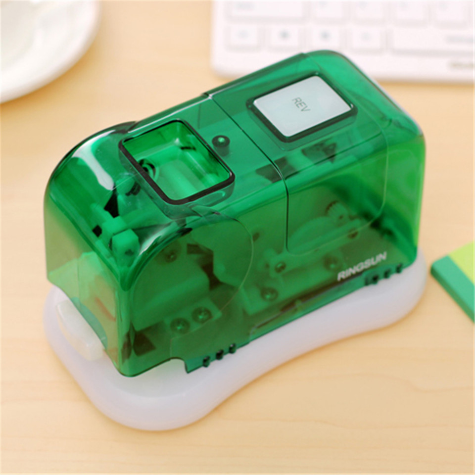 Auto stapler geometric electric stapler stationery office accessories school supplies paper clip Binding Binder book sewer<br>