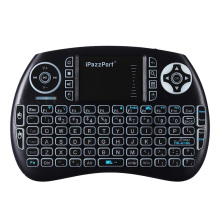 Bluetooth Mini Wireless Keyboard and Mouse Touchpad Combo with Backlit for Android / Google TV Box/Pad / Notebook / Tablet PC