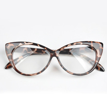 Free Shipping Cat Eye Glasses Frames Women Fashion Glass Frames Optical Accessories 7 Colors zx*HM458#c9