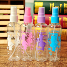 Hot 10Pcs 100ml Refillable Bottle Portable Empty Toner Perfume Bottle Traveler Spray Atomizer Bottle Scent Pump Make Up Tool