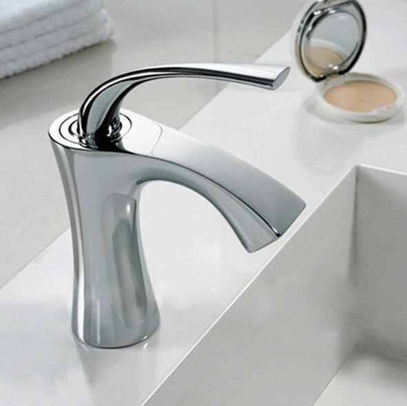 Fashionable Tap Bathroom Chromed Mixer Single handle Single hole Surface Mounted faucet  torneira banheiro B-1085M<br><br>Aliexpress