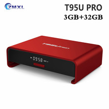 Buy T95U Pro Android 7.1 Smart TV box Amlogic S912 Octa core Support Dual Band WiFi BT4.0 H.265 UHD 4K KD Player RAM 3GB ROM 32GB for $85.59 in AliExpress store