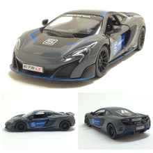1:36 alloy pull back car models,high simulation McLaren 675LT Racing,metal diecasts,toy vehicles,free shipping(China)